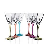 Sada 6 sklenic na víno RCR Cristalleria Italiana Cinzia