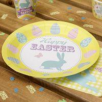 Sada 8 papírových talířů Neviti Happy Easter