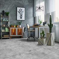 Samolepka na podlahu Ambiance Slab Stickers Waxed Concrete, 30 x 30 cm