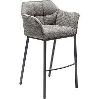Šedá barová židle Kare Design Thinktank