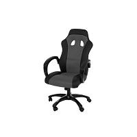 Šedá kancelářská židle Actona Race