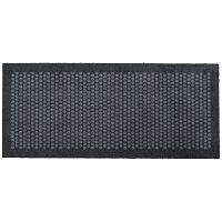 Šedá rohožka Tica Copenhagen Dot, 67x150cm