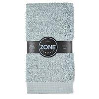 Šedo-zelený ručník Zone Classic,50x100cm