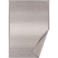 Šedobéžový vzorovaný oboustranný koberec Narma Moka, 140x200cm