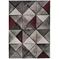 Šedý koberec Universal Optik, 140x200cm