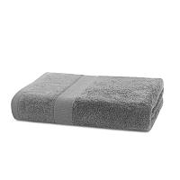 Šedý ručník DecoKing Marina, 50 x 100 cm
