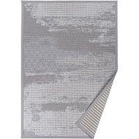 Šedý vzorovaný oboustranný koberec Narma Nehatu, 160x230cm
