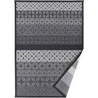 Šedý vzorovaný oboustranný koberec Narma Tidriku, 140x200cm