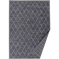Šedý vzorovaný oboustranný koberec Narma Vao, 160x230cm