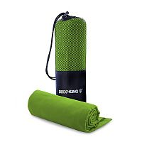 Set limetkově zelené osušky a ručníku DecoKing EKEA
