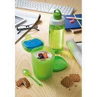 Set svačinového boxu se lžičkou a lahví na vodu Snips Ice Box
