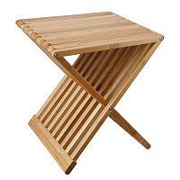 Skládací odkládací stolek/stolička z bambus Tomasucci Tiger