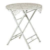 Skládací železný stolek Biscottini Vintage