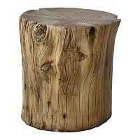 Stolička ve tvaru polena RGE Douglas