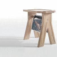 Stolička z dubového dřeva Wewood - Portuguese Joinery Multibanqueta