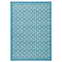 Světle modrý koberec Hanse Home Gloria Tile, 120x170cm