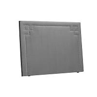 Světle šedé čelo postele THE CLASSIC LIVING Nicolas, 140 x 120 cm