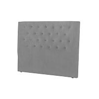 Světle šedé čelo postele Windsor & Co Sofas Astro, 180 x 120 cm