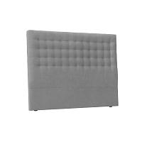 Světle šedé čelo postele Windsor & Co Sofas Nova, 200 x 120 cm