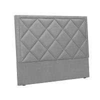 Světle šedé čelo postele Windsor & Co Sofas Superb, 140 x 120 cm