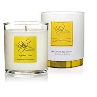 Svíčka s vůní borovice, cedrového dřeva a jantaru Skye Candles Tumbler, délkahoření45hodin