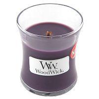 Svíčka s vůní fíků WoodWick, dobahoření20hodin
