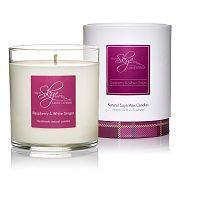 Svíčka s vůní skořicové kůry, vanilky, zázvoru a malin Skye Candles Tumbler, délkahoření45hodin