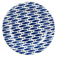 Talíř Churchill China  Fishie Blue, 30 cm