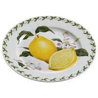 Talířek z kostního porcelánu Maxwell&Williams Orchard Fruits Lemon, ⌀20cm