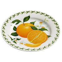 Talířek z kostního porcelánu Maxwell&Williams Orchard Fruits Orange, ⌀20cm