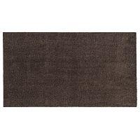 Tmavě hnědá rohožka Tica Copenhagen Unicolor, 67x120cm