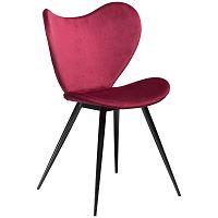Tmavě růžová židle DAN-FORM Denmark Dreamer