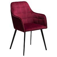 Tmavě růžová židle DAN-FORM Denmark Embrace