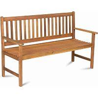Trojmístná zahradní lavice z akáciového dřeva Fieldmann