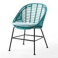 Tyrkysová židle Thai Natura Cushion