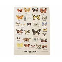 Utěrka Gift Republic Multi Butterflies