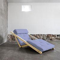 Variabilní lenoška Karup Figo Raw/Blue Breeze