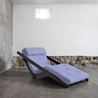 Variabilní lenoška Karup Figo Wenge/Blue Breeze