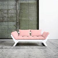 Variabilní pohovka Karup Bebop White/Pink Peonie