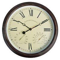 Venkovní nástěnné hodiny s římskými číslicemi EsschertDesign