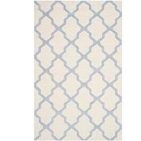 Vlněný koberec Ava Light Blue, 182x274 cm