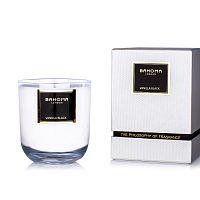 Vonná svíčka ve skle s vůní černé vanilky Bahoma London, 75 hodin hoření