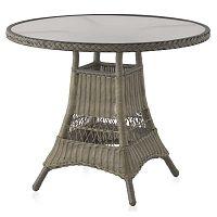 Zahradní jídelní stůl Geese Synthe, ⌀77cm