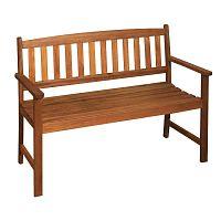 Zahradní lavice z eukalyptového dřeva ADDU Promotion