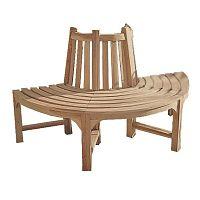 Zahradní lavice z teakového dřeva ADDU Java