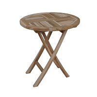 Zahradní skádací stůl z teakového dřeva ADDU Java