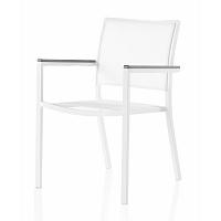 Zahradní židle s područkami a šedými detaily Geese Jenny