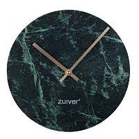 Zelené nástěnné mramorové hodiny Zuiver Marble Time