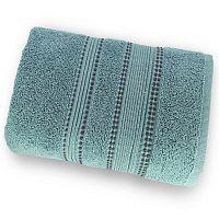 Zelený ručník ze 100% bavlny Marie Lou Remix, 90 x 50 cm