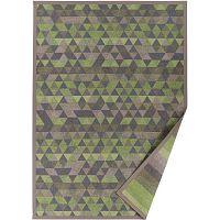 Zelený vzorovaný oboustranný koberec Narma Luke, 70x140cm